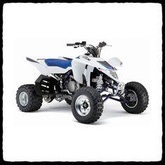 Suzuki LTR 450 Drag ATV Single Drag Exhaust System - Barker's Exhaust