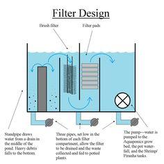 Aquaponics - Box Pond - Filter