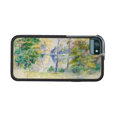 View of a Park by Pierre-Auguste Renoir iPhone 5/5S Cover