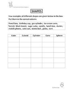 Free Fun Worksheets For Kids: Free Fun Printable Maths Worksheet for Class II - ...