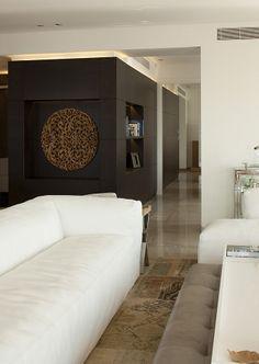 luxury apartment / Lev-gargir Architects #modern #living_room  #interior design