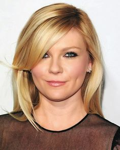 Top 20 Kirsten Dunst Hairstyles & Haircuts – That Will Inspire You ! Top 10 Haircuts, Hairstyles With Bangs, Pretty Hairstyles, Layered Hairstyle, Blonde Hairstyles, Bangs With Medium Hair, Medium Hair Styles, Long Hair Styles, Long Bangs