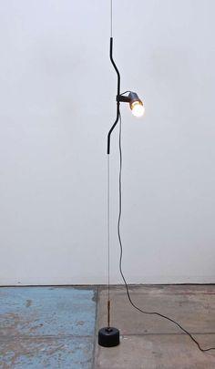 """Achille Castiglioni & Pio Manzu for Flos """"Parentesi"""" Ceiling to Floor Lamp image 3"""