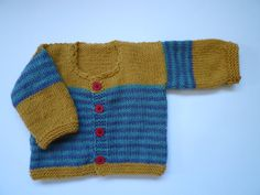 Knit baby sweaterknit baby cardigan for baby boys and by KnitDjin