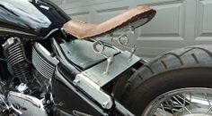 Vulcan 800 - Bobber Project: Mount that seat...