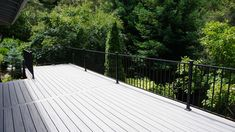 Iron Prefabricated Level Panel by Fortress Deck Railing Kits, Composite Deck Railing, Metal Deck Railing, Deck Railing Systems, Deck Framing, Diy Deck, Building A Deck, Easy Projects