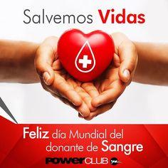 """""""Hoy por ti mañana por mi"""" Feliz día Mundial del donante de sangre! @powerclubpanama"""