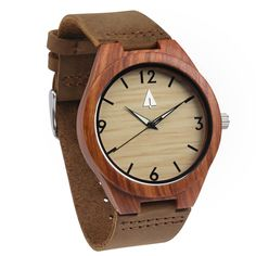 Treehut Wooden Watch // Diamond - Starts at $65