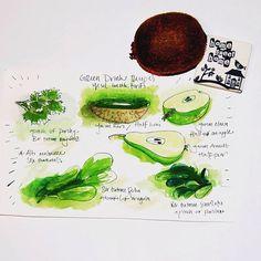 Yeşil iç mavi yaşa... Hatundan uzun yaşamanın kısayolu... Formül bu... Green dr...