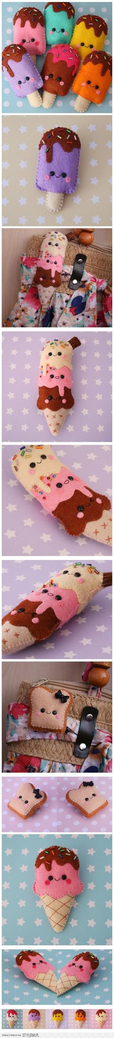 Felt DIY_ice cream na Stylowi.pl