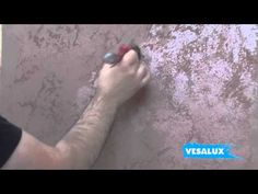 VESALUX Copper Rust Effect   Faux Finishing Technique
