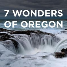 Have you heard of the 7 wonders of Oregon? Even if Oregon's natural wonder's don't make one of the 7 wonders of the world, it's a beautiful state and there are many places that deserve to be known. If you're limited on time here, these 7 make theshort list. If you're staying a while,there's plenty more to explore!