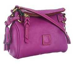 Dooney & Burke Cross-body Flop-top Purse This color & camel too...