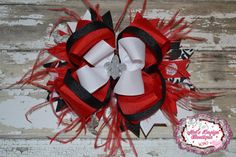 Boutique hair bow  OTT layered hair bow by MelsDesignBoutique, $12.25