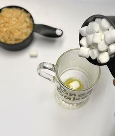 Rice Krispie Treat in a mug
