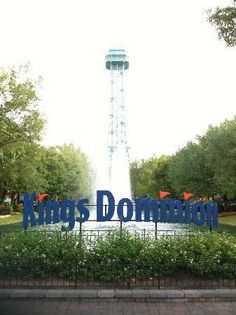 Kings Dominion, Doswell, Virginia...a fun amusement park spent every weekend one great summer with the kids.  Love this Park!