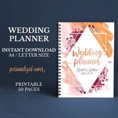 Printable wedding planner