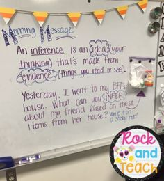 What a fun way to practice the skill of inference!