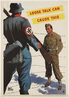 USA - WW II. .. snitches get stitches