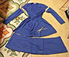 Transformar vestidos grandes  pequeños   PAGINA GENIAL