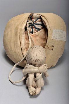 Eighteenth Century Midwife Training Mannequin