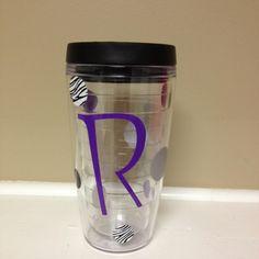 Initial Tumbler cup ~$15!