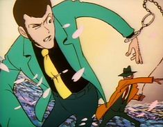 Lupin III, episodio 1 (La prima puntata non si scord… eh?!?) - L'Antro Atomico del Dr. Manhattan