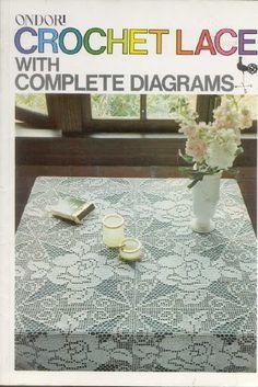 Ondori: Crochet Lace with complete diagrams - Irene Persson - Álbumes web de Picasa