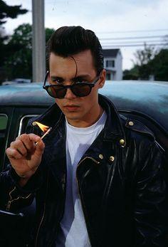 Johnny Depp in Cry Baby. Dir. John Waters.