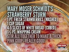 Mm, mm! Sounds like a sweet summer treat. You can add your most classic favorite recipes to the Schmidt Family Cookbook too! Click here: http://schmidtsreunite.com/2015/07/06/add-recipes-to-the-schmidt-family-cookbook/