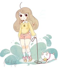 Bee and puppycat by ~stare507 on deviantART