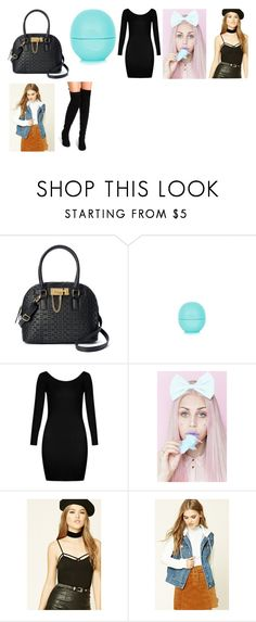 """meal with friends outfit"" by staleysadie on Polyvore featuring Apt. 9, Eos, Boohoo and Forever 21"