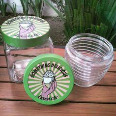 Pop art .. decorative jar