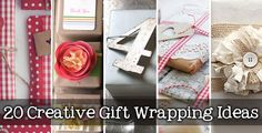gift wrapping ideas | ... together 20 creative gift wrapping ideas for gifts for any occasion