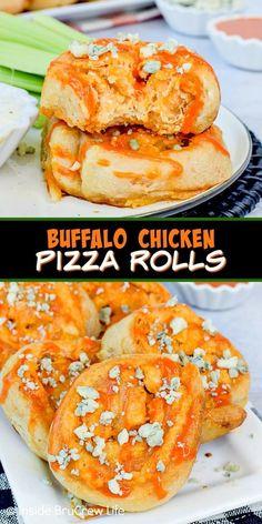 Selecting The Suitable Cheeses To Go Together With Your Oregon Wine Buffalo Chicken Pizza Rolls - These Easy Pizza Rolls Are Stuffed With Your Favorite Buffalo Chicken Dip. Make This Easy Recipe For Game Day Or Football Parties. Chicken Appetizers, Easy Appetizer Recipes, Snack Recipes, Dinner Recipes, Pizza Recipes, Snacks, Football Parties, Football Food, Buffalo Chicken Rolls