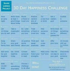Happiness Challenge, Stress And Anxiety, Self Care, Challenges, Self Love, Mindfulness, Self Service