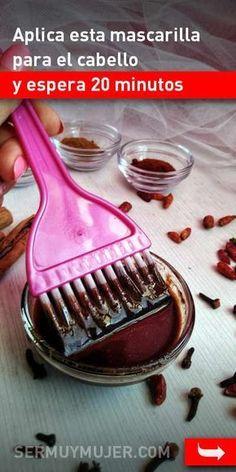 Aplica esta mascarilla para el cabello y espera 20 minutos. ¡Los efectos te encantarán! #mascarilla #belleza #pelo #cabello #remediosnaturales