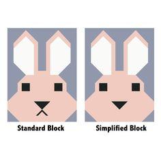 Elizabeth Hartman - Bunny - Quilt Pattern (ElizabethHartman_Bunny)