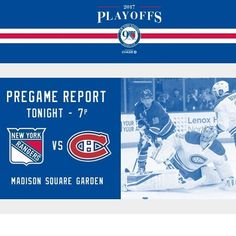 Happy Easter. Enjoy family time and then when it hits 7pm EST get ready for game 3.  #letsgorangers