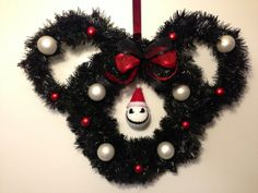 Nightmare Before Christmas Jack Skellington by CreationsByCB.  I'd like ears a bit more away from the head and more decorations.  Wonderful idea, though!