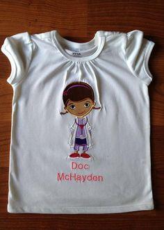 Personalized Doc McStuffins Shirt
