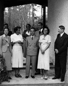 Joseph Goebbels, Leni Riefenstahl and Adolf Hitler