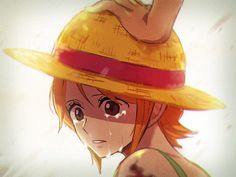 Lunami One piece Luffy and Nami