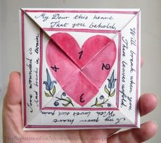Paper Crafts: Make Your Own Valentine Puzzle Purse Valentine Crafts, Be My Valentine, Paper Art, Paper Crafts, Paper Craft Making, Up Book, Pink Paper, Paper Folding, Sweet Nothings