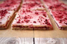 Not a Pop-Tart: Danish Hindbærsnitter (raspberry bar)