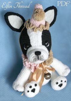 10 Beste Afbeeldingen Van Bulldogs Crochet Animals Crocheted