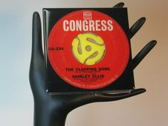 Shirley Ellis The Clapping Song Collectible by ROCKANDROLLCOASTERS, $6.50
