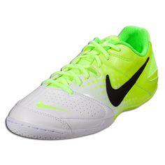 Nike Nike5 Elastico - Volt/Black/White Indoor Soccer Shoes