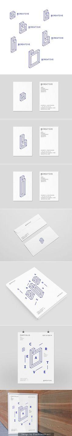 Bcreative – Personal Branding by Bjarke Nøhr Kristensen - Bussiness Advertising Design Corporate Design, Brand Identity Design, Graphic Design Branding, Graphic Design Posters, Brochure Design, Business Card Design, Business Cards, Advertising Design, Self Branding