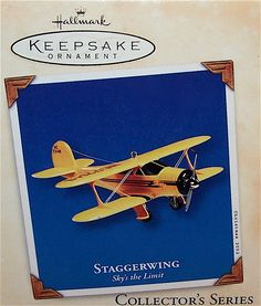 Hallmark 2001 Skys the Limit #6, Staggerwing